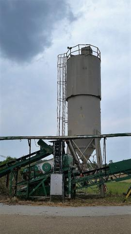 Stationary 350BBL Dust Silo (3 of 3)