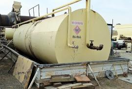 Skid Mounted 10,000 Gallon Fuel Tank (1 of 2)