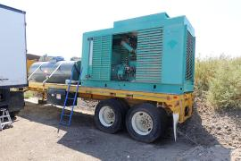 REDUCED PRICE - Portable 165-225 tph CMI Drum Plant w/ genset (4 of 12)