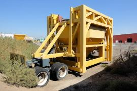 REDUCED PRICE - Portable 165-225 tph CMI Drum Plant w/ genset (9 of 12)