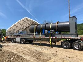 LIKE NEW 5'X25' COUNTERFLOW COMPLETE DRYING SYSTEM (3 of 6)