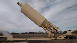 Portable self erect 750BBL (approx.55Ton) Astec Dust/Lime Silo (1 of 3)