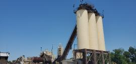 (1) 85ton, (1) 95 ton, (1)105 ton silo, With transfer conveyors (4 of 4)