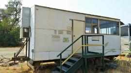 Portable 8'x20' CR control house (1 of 2)
