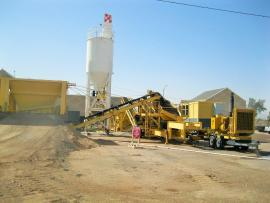 PORTABLE 550TPH CTB - SOIL CEMENT PLANT (1 of 6)