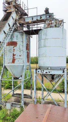 (2) Stationary 100ton Twin Silo Package (200ton total) (2 of 9)