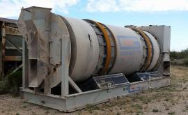 (Sale Pending) Stationary (89''x20') Gencor Mini MIXING Drum (1 of 6)