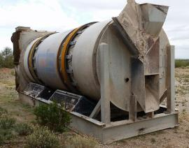 (Sale Pending) Stationary (89''x20') Gencor Mini MIXING Drum (2 of 6)