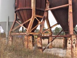 600 Ton's Custom Sand Storage Silo's (4 of 6)