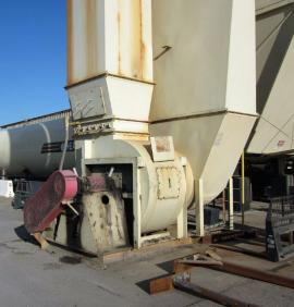GENCOR  52,000 CFM BAGHOUSE WITH MATED GENCOR CF DRUM (3 of 4)