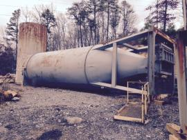 Stationary (160 ton) CMI Silo (No Slat) (1 of 1)