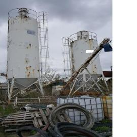 2 CONCRETE STORAGE SILOS AND LOAD OUT BIN/AUGERS (1 of 7)