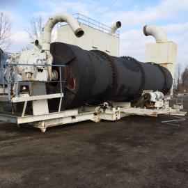 Stationary (8'x36') Standard Steel Aggregate Dryer (1 of 6)