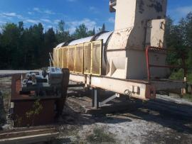 Stationary (66''x20') Gencor MIXING Drum (1 of 6)