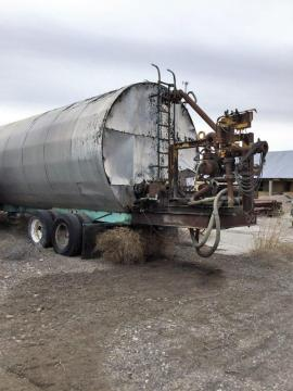 PORTABLE 30,000 GALLON COILED AC TANK W/ HEATER (2 of 3)