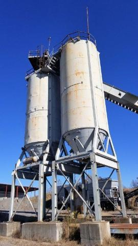 Stationary (1)140ton / (1)160ton Silo Package (1 of 4)